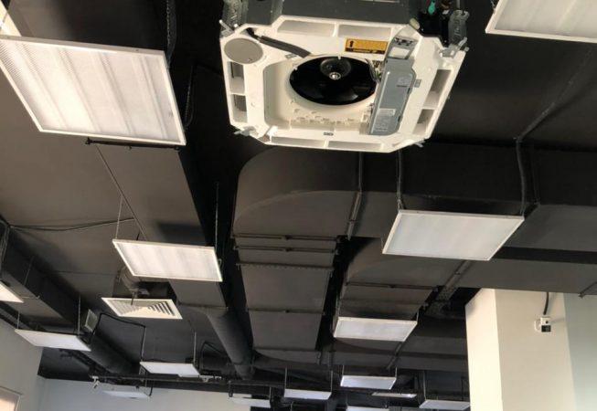 Монтаж вентиляции , Компания «Этажи