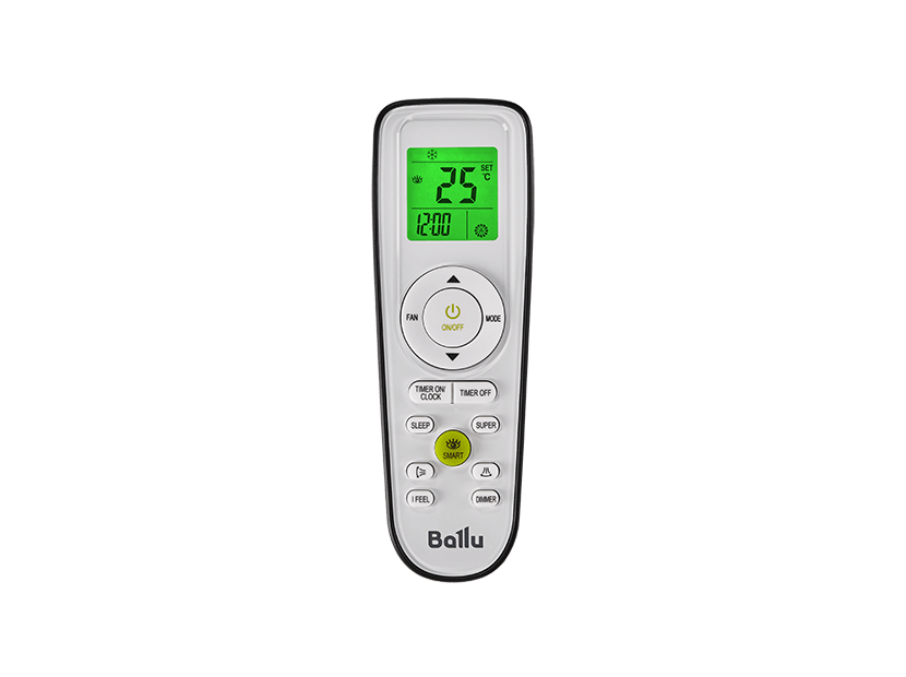Пульт  Ballu BSPI Серия Platinum ERP DC Inverter Black Edition
