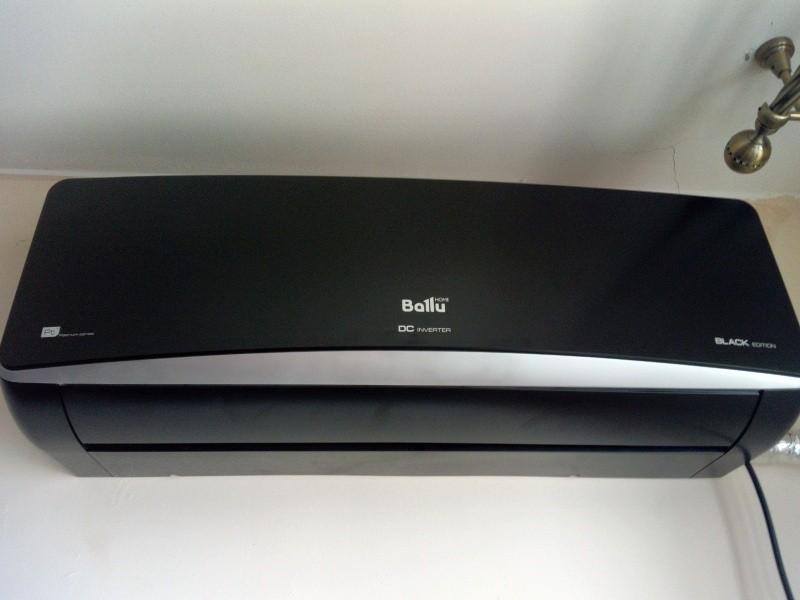 Кондиционер Ballu BSPI Серия Platinum ERP DC Inverter Black Edition